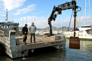 Les moyens mobilisés pour les travaux maritimes
