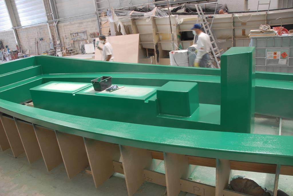Construction Coches d'eau